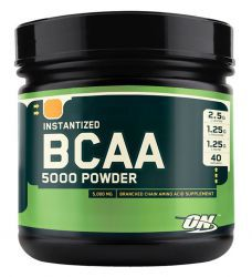 Optimum Nutrition BCAA 5000 Powder Апельсин (380 г)