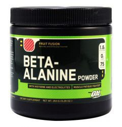 Optimum Nutrition Beta Alanine powder Фруктовый пунш (263 г)