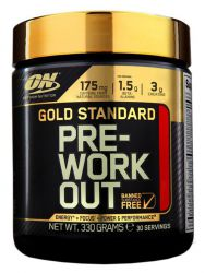 Optimum Nutrition Gold Standart PRE-Workout Фруктовый пунш (30 порций)