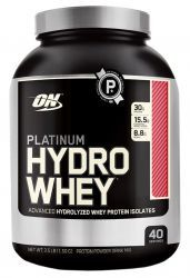 Протеин Optimum Nutrition Platinum  HydroWhey 3.5 lb  Турбо-шоколад (1590 гр)