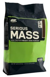 Optimum Nutrition Serious Mass 12lb Шоколад (5455 г)