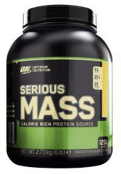 Optimum Nutrition Serious Mass 6lb Ваниль (2727 г)