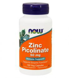 NOW Zinc Picolinate 50 mg (120 капс)