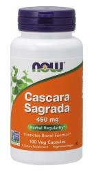 NOW Cascara Sagrada 450 мг (100 кап)